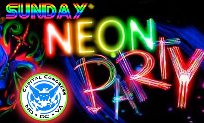 Neon-Sunday